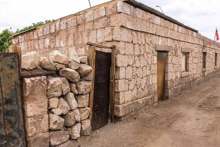 Casa de Adobe en Atacama.