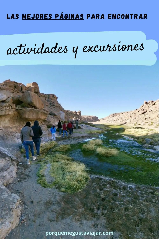 Las mejores páginas para encontrar actividades y excursiones