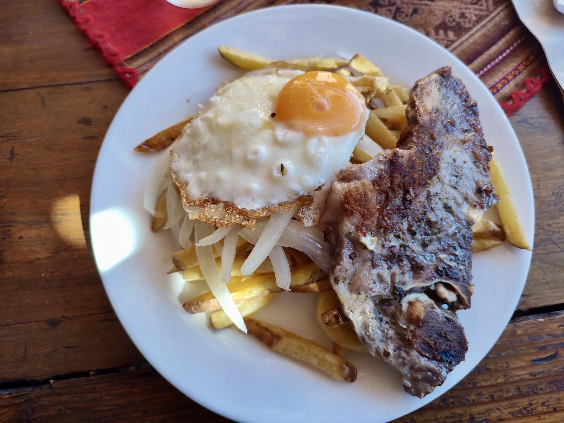 Menú en Restaurante Los Gor2, San Pedro de Atacama..