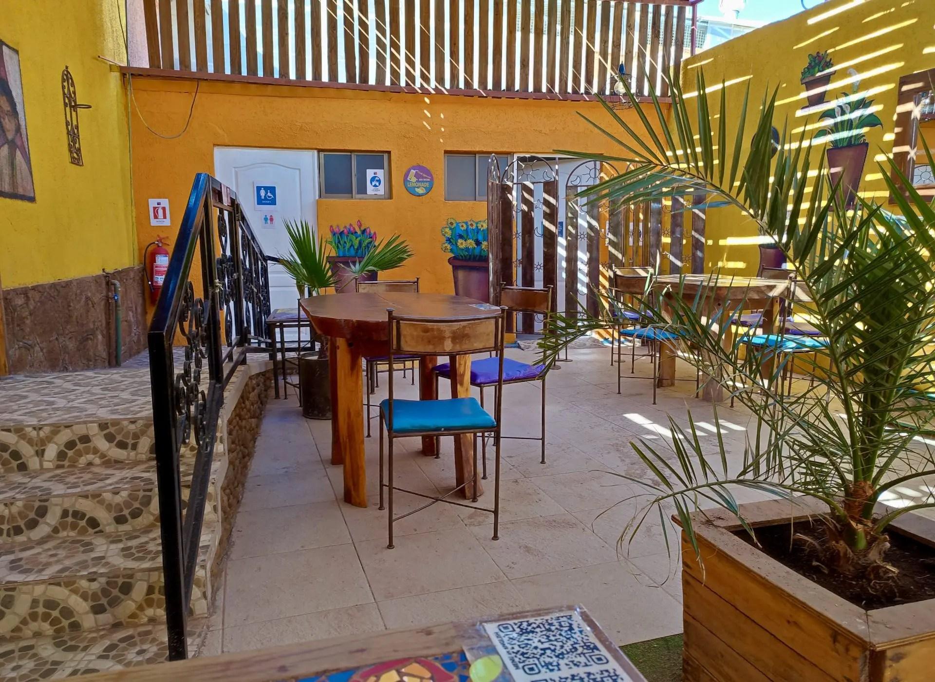 Salón de té O2 San Pedro.