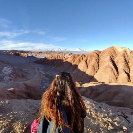 Viajando sola en San Pedro de Atacama.