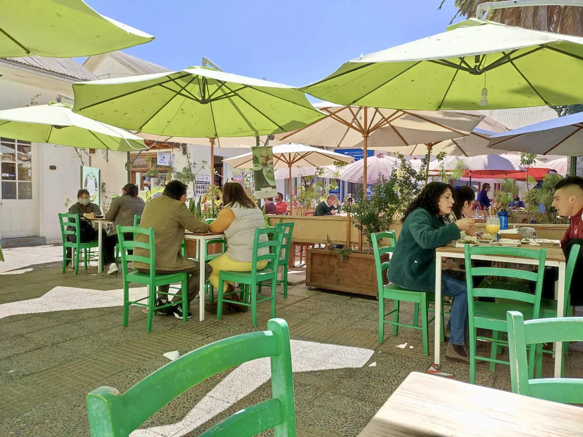 Patio Colonial La Serena.