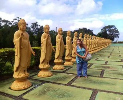 Fotografía en el Templo Budista de Foz do Iguazu.