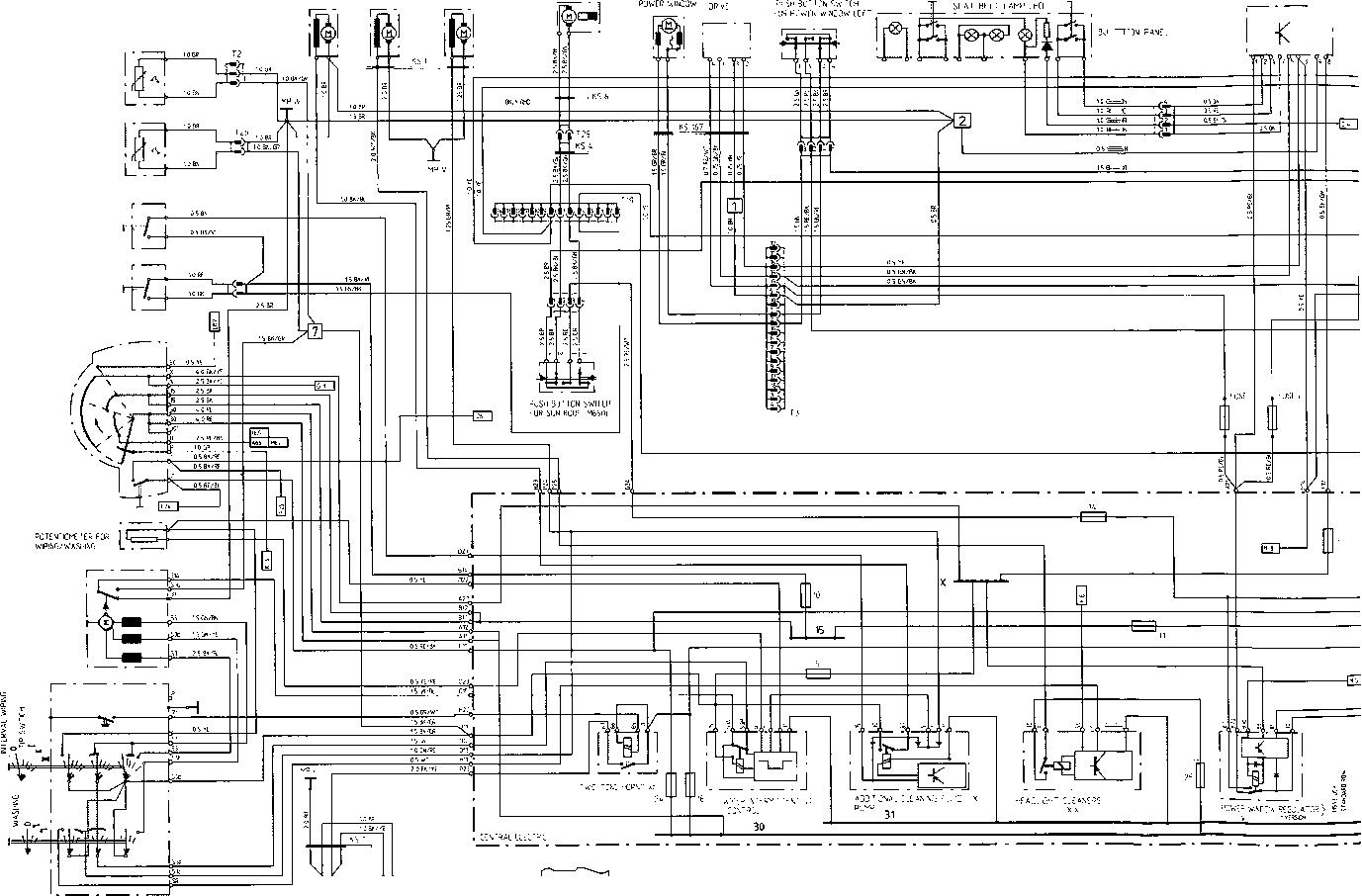 Porsche Wiring Diagram Tach Electrical Diagrams Sun Super 1977 928 S