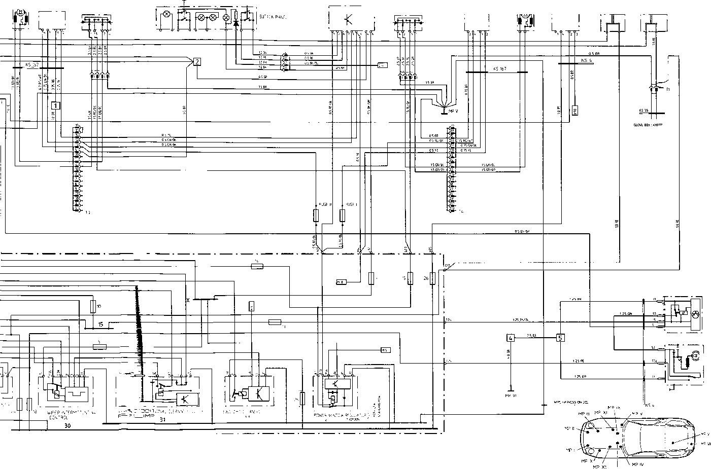 1987 porsche 924s wiring diagram  porsche  auto wiring diagram