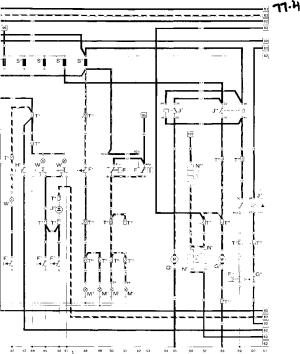 Current flow diagram 930 Turbo USA Model  Porsche 930 Turbo