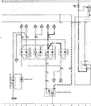 Current Row Diagram Type 944 USA Model 84 Pari  Porsche