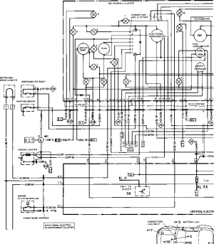 Wiring Diagram Type 944944 turbo Model 852 page  Porsche