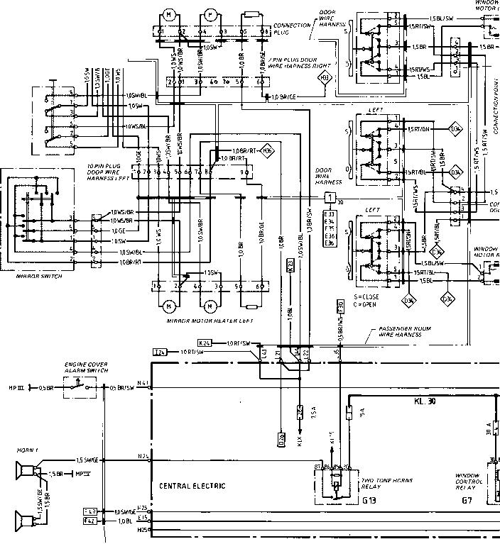 Porsche 911 Wiring Diagram Schematic Electronic