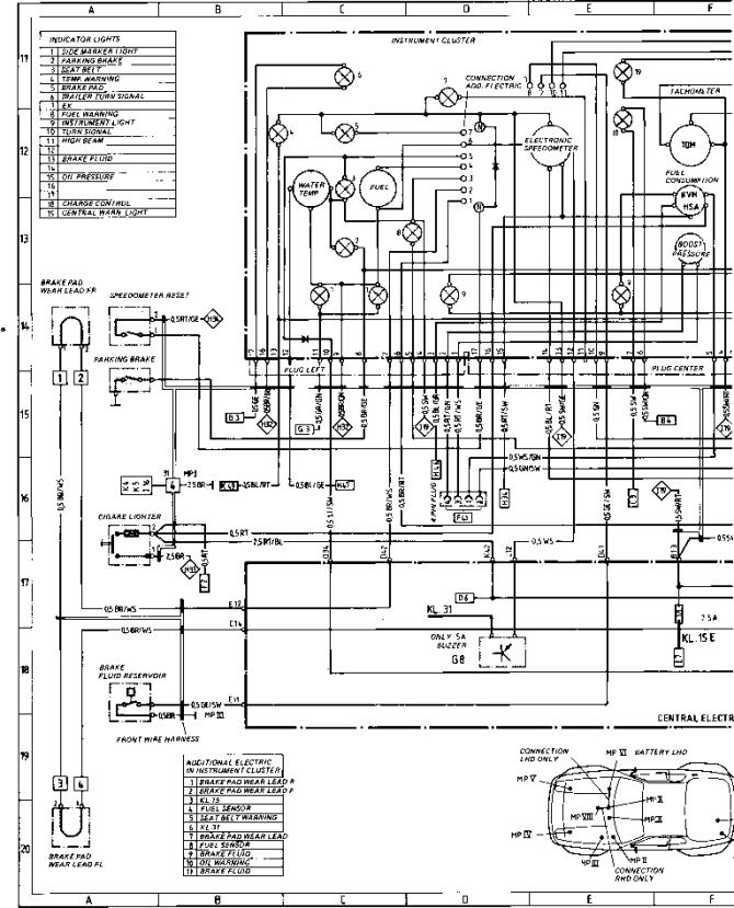 wiring diagram type 944944 turbo model 852 page 4  porsche