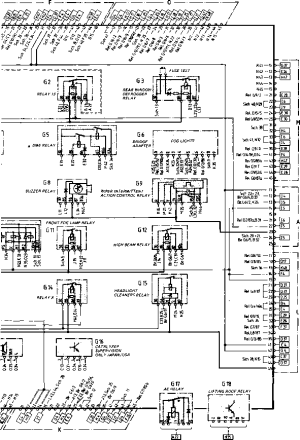 Wiring Diagram Type 944944 turbo Model 852 page  Porsche