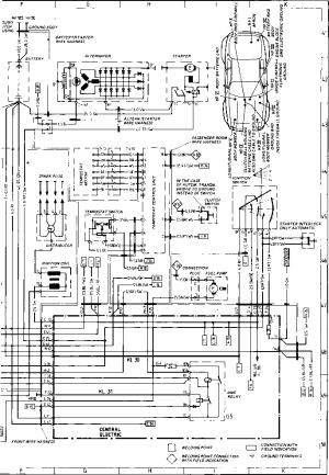 Wiring Diagram Type 944944 turbo Model 86 Sheet  Porsche