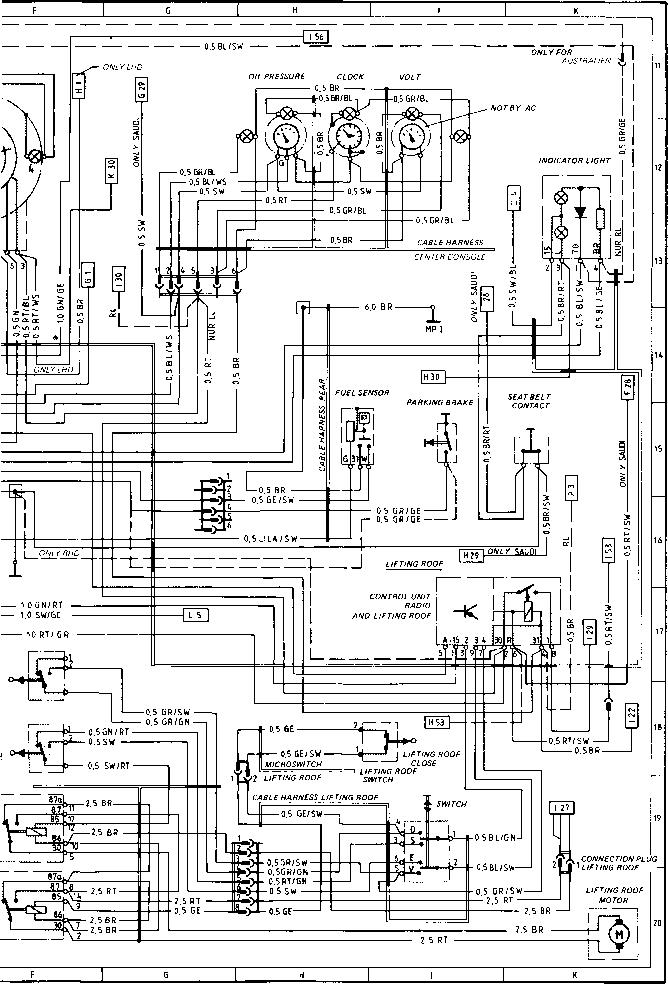 1985 porsche 911 wiring diagram wiring diagram rh patrickpowell co GM Tachometer Wiring GM Tachometer Wiring Diagram