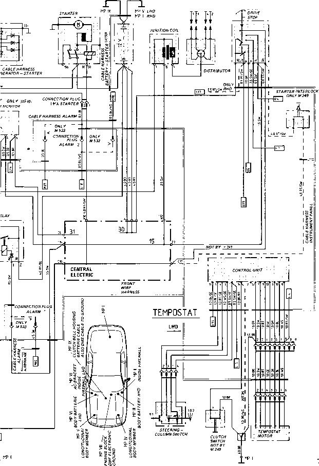 porsche 928 wiring harness console porsche 928 engine