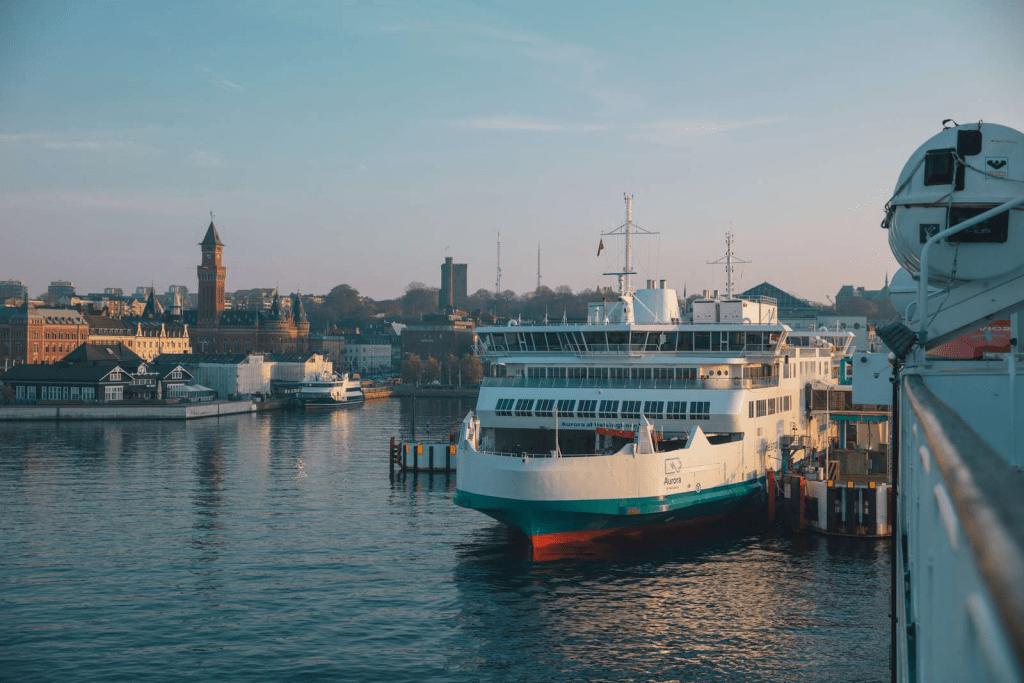 Färjor i Nordhamnen