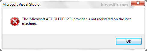 Incompatiblity error between Office and Visual Studio
