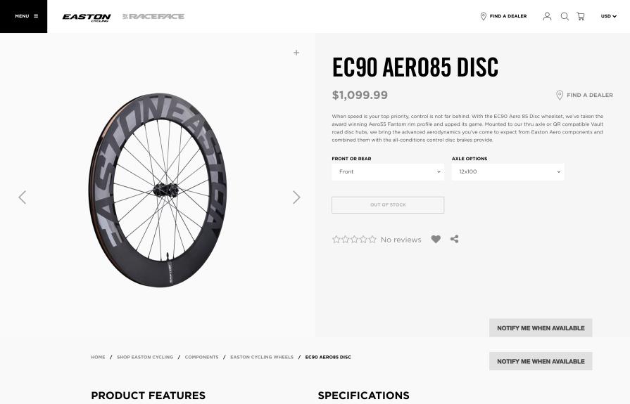 RaceFace Shopify Plus ERP Integration