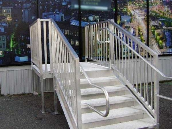 Portable Wheelchair Ramps Handicap Ramps For Home Express Ramps | Handicap Rails For Steps | Deck | Wheelchair Ramp | Activated Led | Adjustable Height | Bed