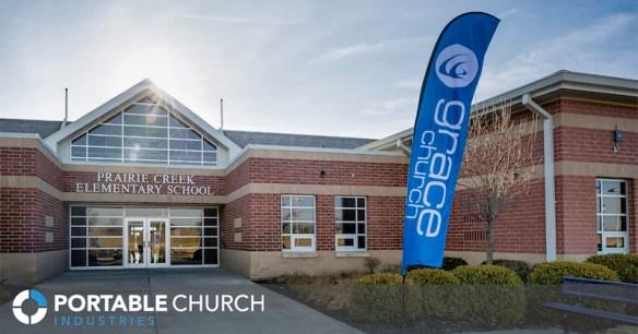 portable church, church venue, mobile church