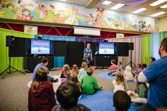 Portable Church children's ministry school