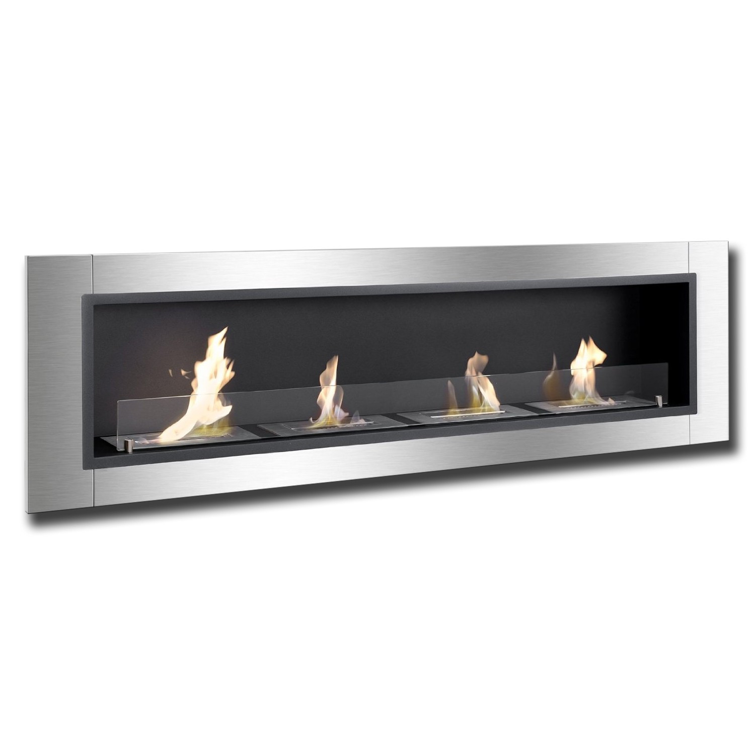 67 Ignis Accalia Wall Mounted Recessed Ventless Ethanol