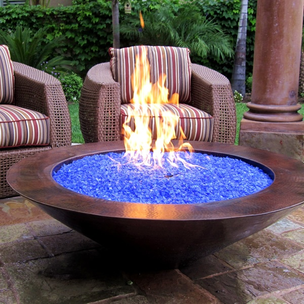 What Is Fire Glass And How Does It Work I Portable