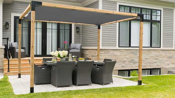 Toja Grid Pergola Kit How To Assemble It In 45 Minutes