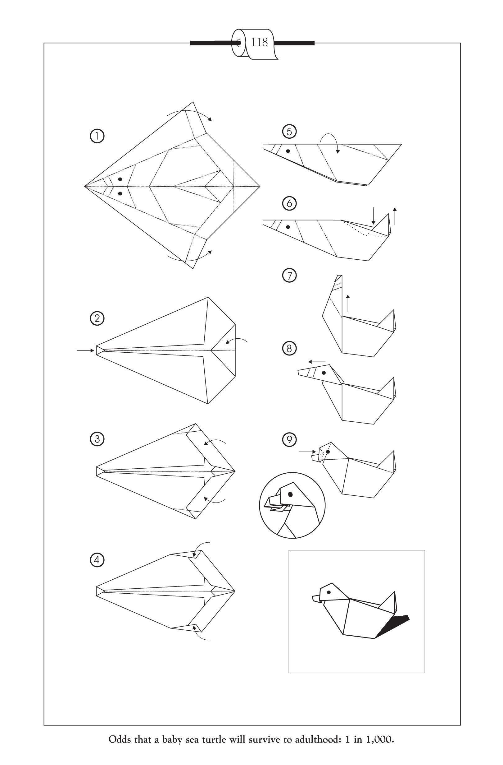 Prison Break Origami Swan Step By Step Jadwal Bus