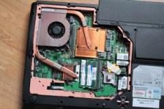 MSI GX740 - Entrailles