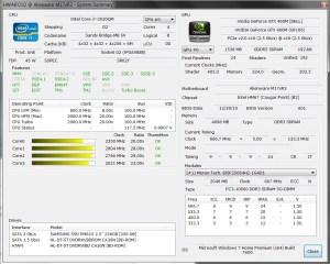 HWiNFO32 - Nouveau Alienware M17x