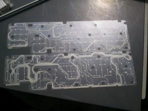 Voici un exemple de matrice que vous pouvez trouver dans votre clavier