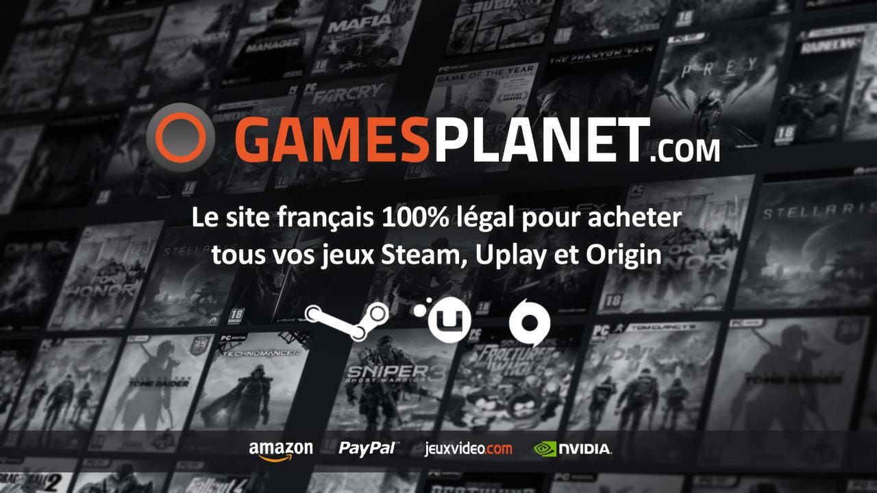 P4G devient partenaire de Gamesplanet pour vos jeux Steam moins chers