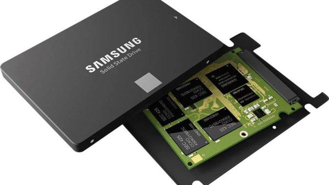 Prix du SSD en baisse