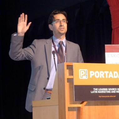 Coordinator of the Branded Entertainment Panel: Enrique Arbeláez, XL Alliance.