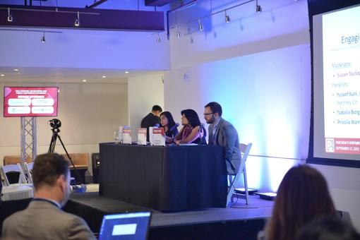 """""""Engaging the Latina Millennial"""" panel"""