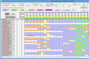 Call Center Scheduling Software