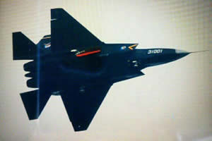 Chine: premier vol du J-31