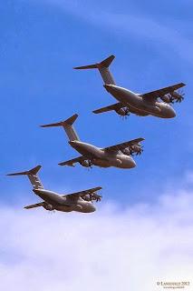 première mission opérationnelle pour l'A400M
