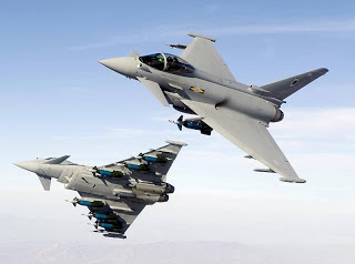 Lot de consolation pour le Rafale, L'eurofighter Typhoon sorti de la compétition aux émirats