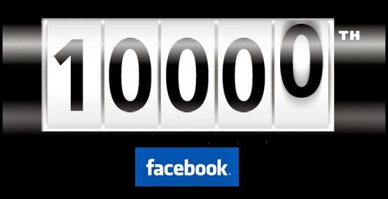 10 000 fans sur Facebook