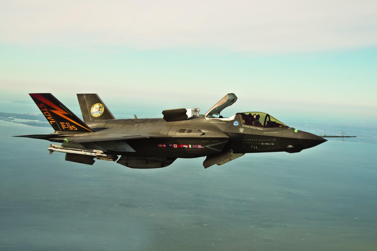 Le F-35, la machine pour dominer le monde, Made In USA.