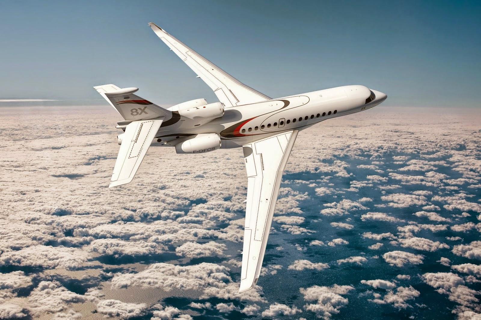 Le Falcon 8X achève ses essais au sol, et le premier vol se précise