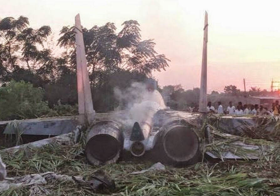 Inde : Crash d'un Su-30 MKI