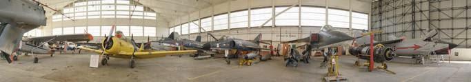 Visite guidé: découverte du musée de l'Aéronautique Navale de Rochefort