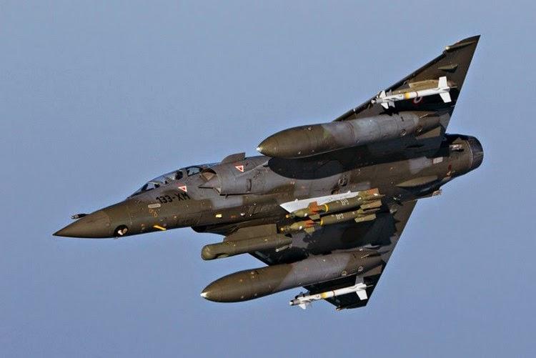 Six Mirage 2000D déployés en Jordanie