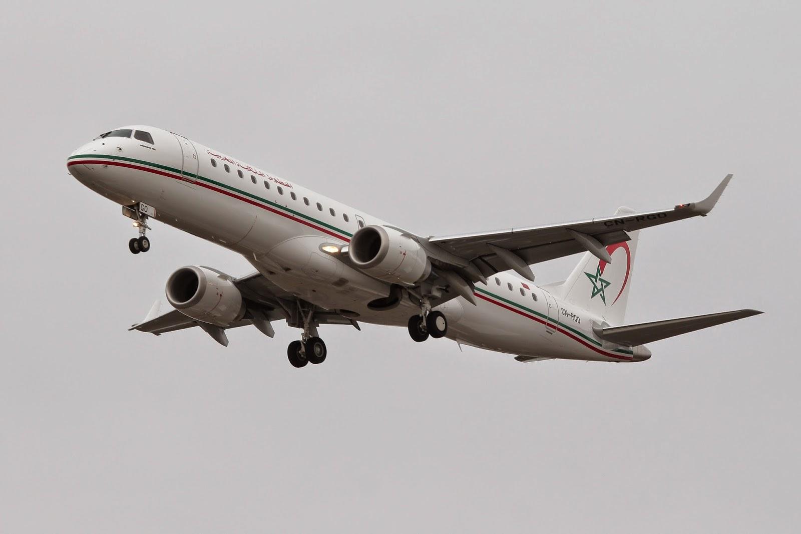 [Photo Exclusive] La flotte de la Royal Air Maroc reçoit 4 nouveaux Embraers
