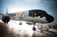 Brussels Airlines présente son A320 Rackham
