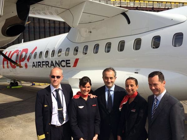 Hop-Air France reçoit son premier ATR 72-600