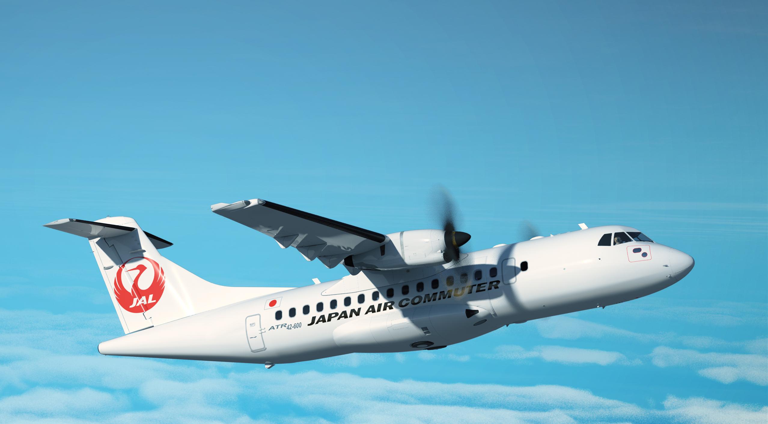 ATR annonce la signature d'un contrat de 8 ATR 42-600 avec la compagnie Japan Air Commuter.