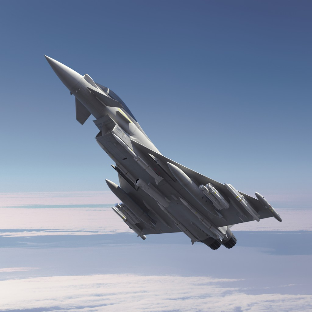 Potential Brimstone and Meteor fit on Typhoon